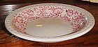 Syracuse red Roxbury 7 3/8 salad bowl Railroad china