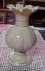 "Beautiful Beleek Lotus Blossom Vase 8"" gold mark"
