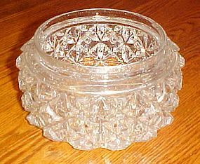 Vintage glass replacement  ceiling light cover diamonds