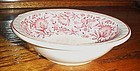 Syracuse Red Roxbury 6 3/8 cereal bowl  Kansas Railroad