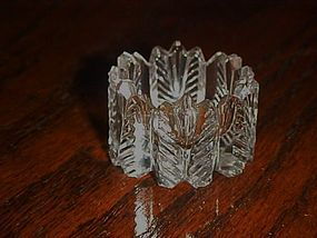 Antique Westmoreland cut glass #210 open salt cellar