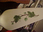 Vintage ceramic pie server with Ivy design