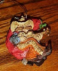 Montana Lifestyles Cowboy & chili pepper moon ornament