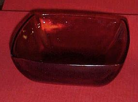Anchor Hocking Royal Ruby CHARM berry or salad bowl