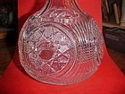 EAPG George Duncan Starred Loop water carafe decanter