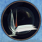 Fitz & Floyd Oiseau de Paradis Salad Dessert Plate