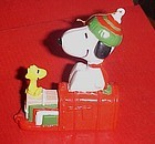 Peanuts Snoopy and Woodstock mailbox ornament