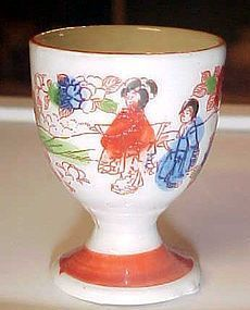 Vintage Geisha girl egg cup Japan