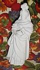 Avon white bisque nativity figurine King Magi Balthasar