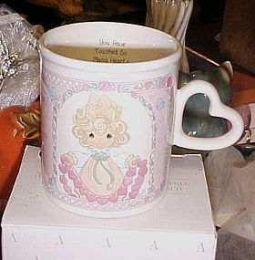"Precious Moments Mug ""you have touched so many Hearts"""