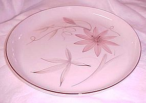 Winfield China Passion Flower dinner plates Mid Century china