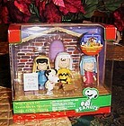 Peanuts Christmas Play mini figurine set in box