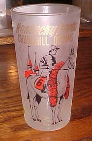 1960 Kentucky Derby mint julep drinking glass