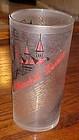 1961 Kentucky Derby mint julep drinking glass Churchill Downs