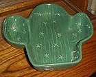 Vintage Treasure Craft Cactus serving or chip bowl