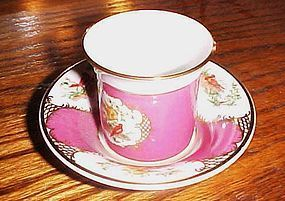 Avon European Tradition Collection France birds Demitasse cup n saucer