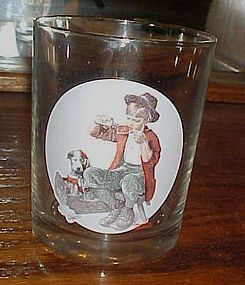 Norman Rockwell Saturday Evening Post glass Bedside Manner
