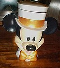 Disney on Ice Mickey  Mouse Ringmaster lidded cup top hat bow tie