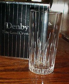 Denby Crystal Large highball Washington pattern Hard to find