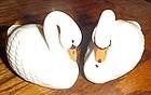 Josef Originals swan salt and pepper shakers