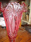 Indiana glass Tiara Baroness  dusty rose vase