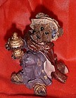 Boyds Bears and Friends nativity wiseman figurine Raleigh as Balthasar