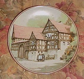Konigszelt Bayern half timbered houses series 1st plate Farmhouse in..