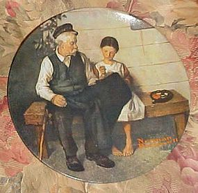 Norman Rockwell Heritage Collection The lighthouse Keepers Daughter