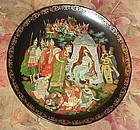 Russian Legends collector plate The Golden Cockerel