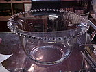 Imperial Candlewick punch bowl only