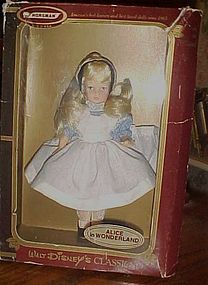 Horseman Disney Classics Alice in Wonderland doll in box