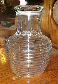 Anchor Hocking Hocking Park avenue glass water carafe with lid