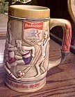 1980 Budweiser stein for the 1984 los Angeles Olympics