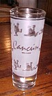 Souveinir shot glass Cancun Mexico Drunk ducks