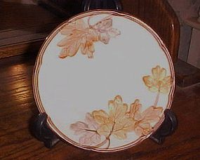 """Franciscan October pattern bread and butter plate 6 3/8"""""""