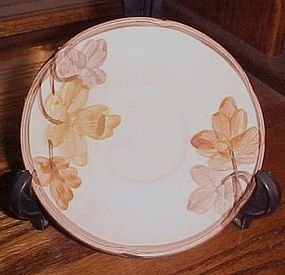 Franciscan October pattern saucer