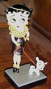 Betty Boop figurine Out for a stroll Danbury Mint MIB