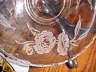 """Fostoria Camellia pattern  lily float console bowl 11 3/8"""""""