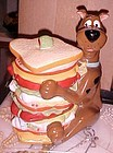 Scooby Doo and sandwich cookie jar Warner Brothers
