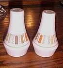 Noritake Progression Mardi Gras salt and pepper shakers