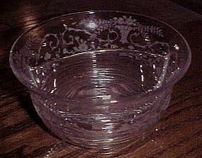 Elegant Cambridge Portia divided mayo bowl