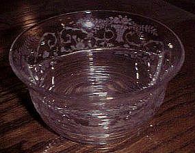 Elegant Cambridge Portia divided mayo bowl