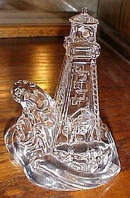 Lenox crystal Treasure by the sea lighthouse figurine
