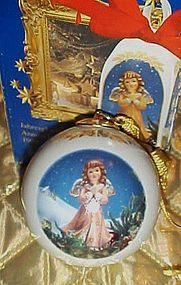 Wehnacht jahreskugel 1999 porcelain ball ornament Goebel  ltd edition