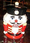 Nutcracker soldier cookie jar