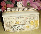 Treasure Craft Street car cookie trolley cookie jar