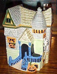 Ceramic haunted House cookie jar