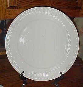 "Oneida majestic ware 12"" chop plate Athena Gold round platter"