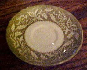 J & G Meakin Victoria Ironstone saucer Royal Staffordshire