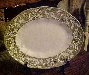 J&G Meakin Victoria Ironstone platter English Staffordshire Sterling